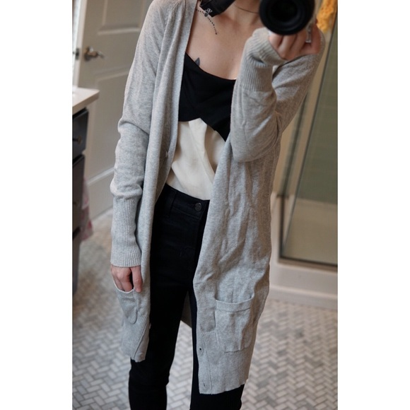 6402e282edf Zara knit long cardigan. M 5aa1a397c9fcdfa0f7c93d37